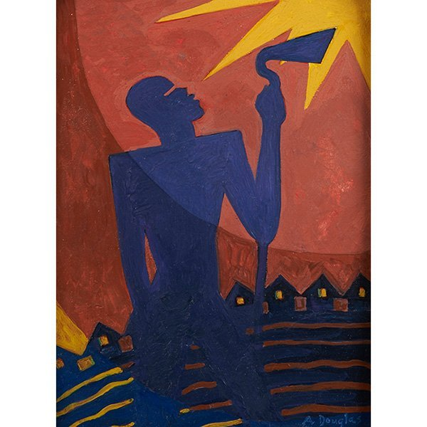 Aaron Douglas (American, 1899-1979) The Toiler