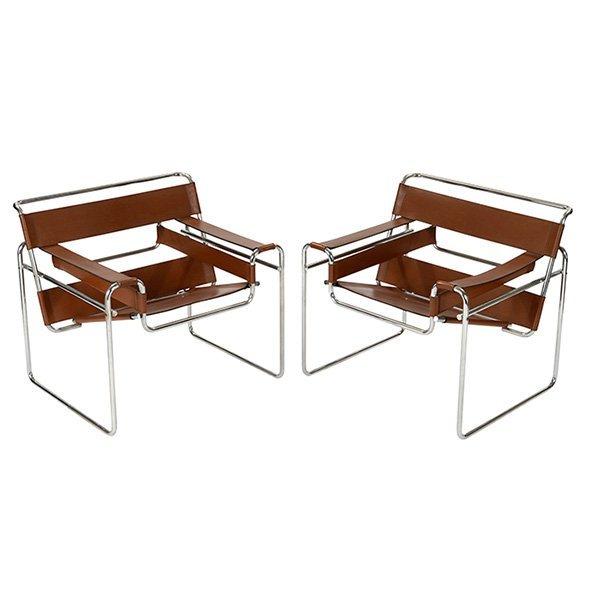 Marcel Breuer Wassily chairs, Stendig