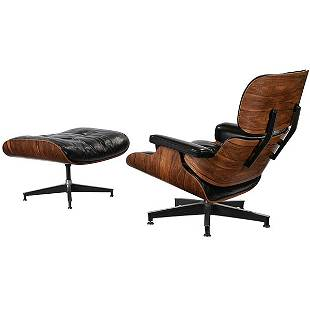 Charles & Ray Eames 670.671 lounge chair and ottoman,