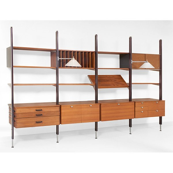 George Nelson CSS wall unit, by Herman Miller, 1960s