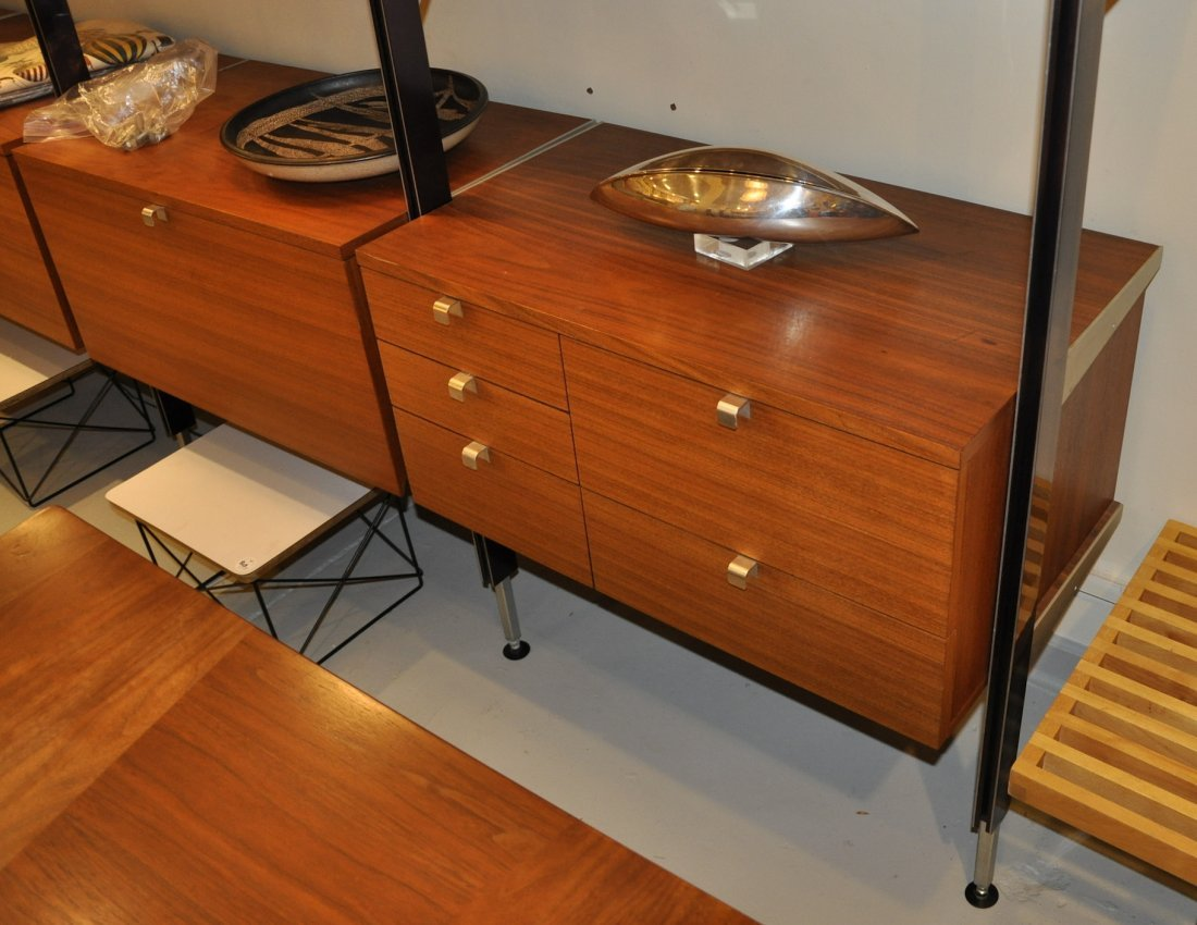 George Nelson CSS wall unit, by Herman Miller, 1960s - 2