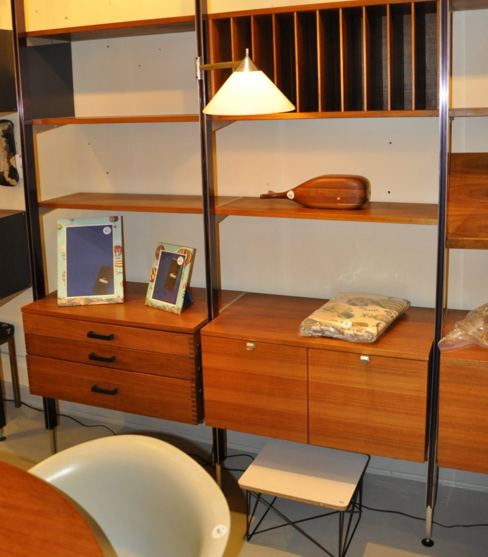 George Nelson CSS wall unit, by Herman Miller, 1960s - 6