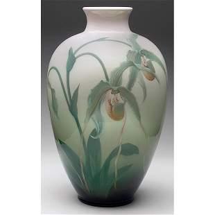 Carl Schmidt Rookwood Pottery, vase, #787B