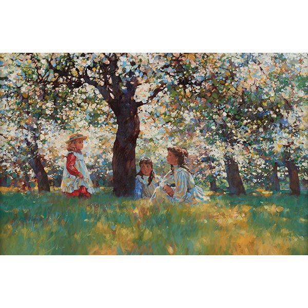 Diane Flynn, (British, b. 1939), Summer Afternoon