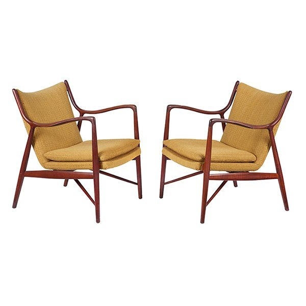 Finn Juhl, NV 45 chairs