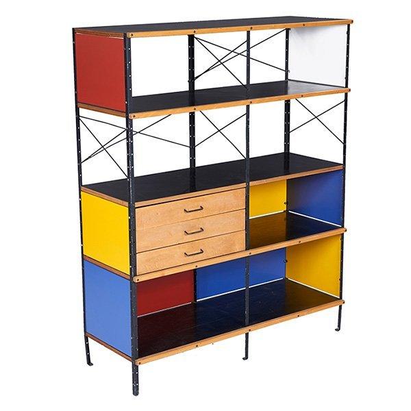 Charles & Ray Eames, ESU 400 storage unit, 1st series