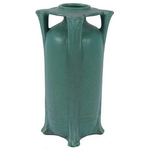 Teco Nelson Max Dunning 1873 1945 Designer Vase
