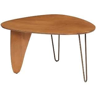 "Isamu Noguchi Rudder dining table, model IN-40 50.25""w"