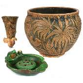 The Weller Pottery Company Coppertone low vase and