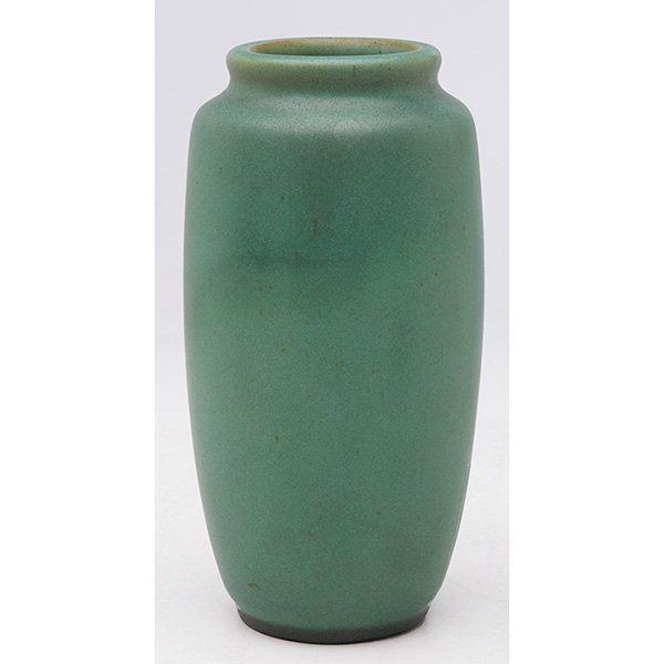 """Teco, W.D. Gates (1852-1935), designer vase, #60A 3""""dia"""