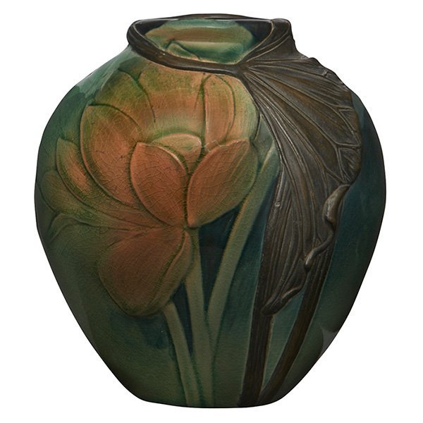 Virginia B. Demarest for Rookwood Pottery, Lotus