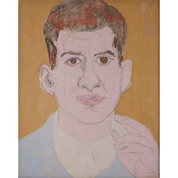 Beauford Delaney, (American, 1901-1979), Portrait of a