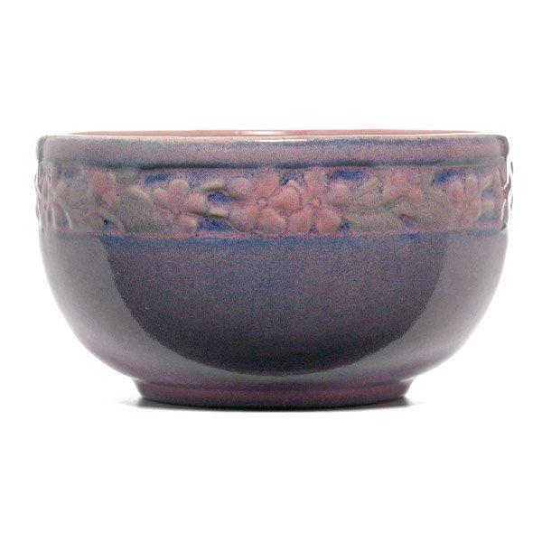 010: Newcomb College vase, carved