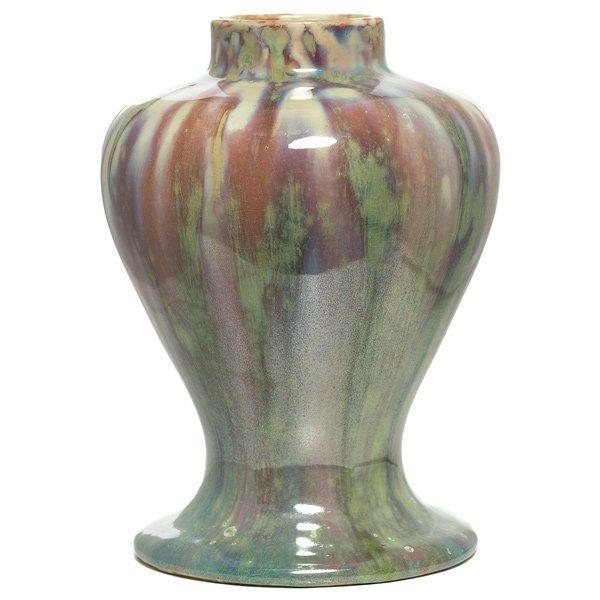011: Fine University City vase, shouldered form