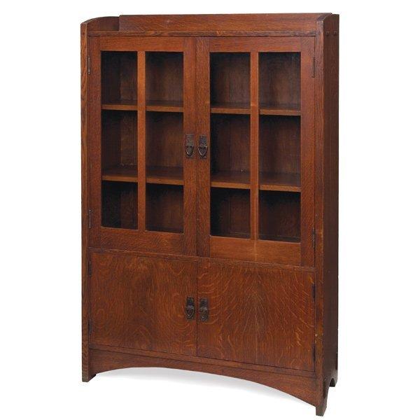 014: Good Gustav Stickley bookcase