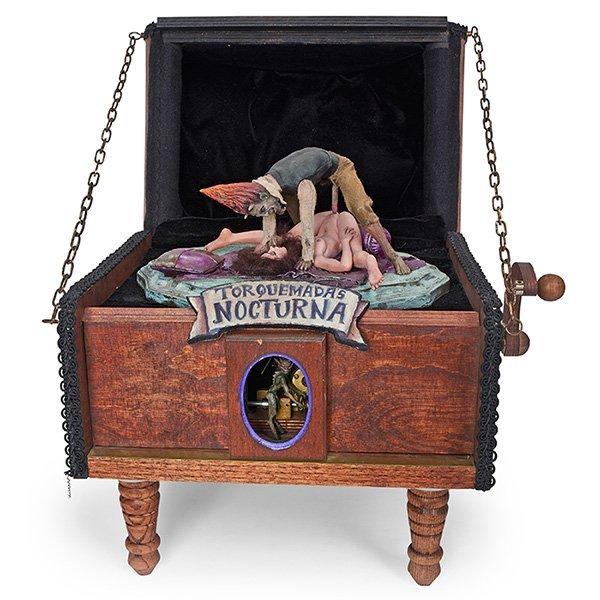Thomas Kuntz (b. 1965) Torquemada's Nocturna automaton