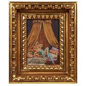 Continental Boudoir erotic automated painting