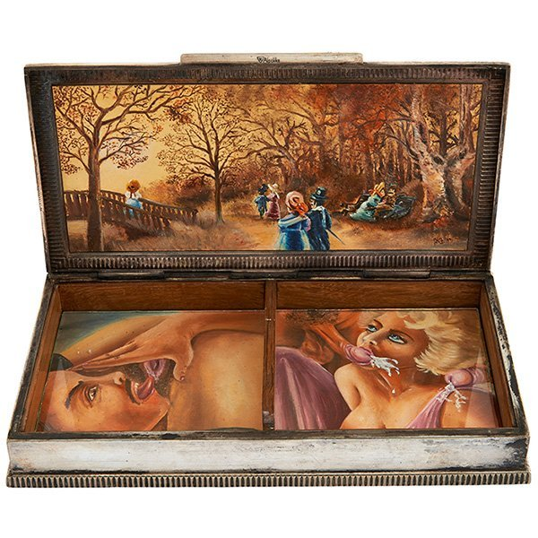 Continental Cunnilingus and Fellatio erotic box