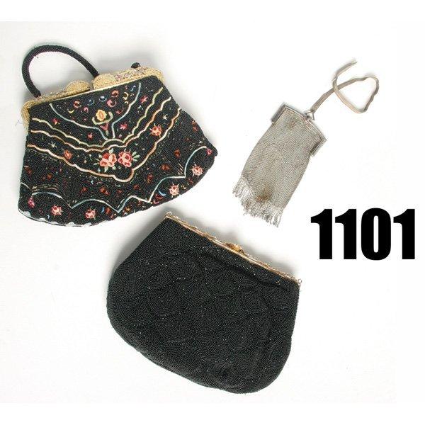 1101: Vintage Evening purse, w/  Walborg clutch purse,