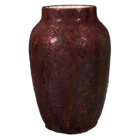 Hugh C. Robertson (1845-1908) For Dedham Pottery Vase