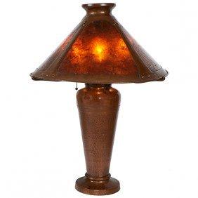 "Benedict Art Studio Table Lamp 19""dia X 26""h"