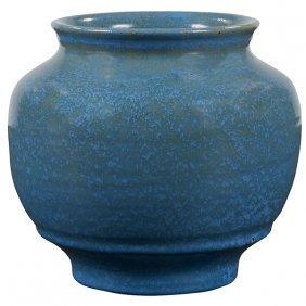 """Pewabic Vase 5.5""""dia X 5""""h"""