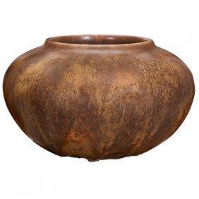 """Pewabic Vase 10.5""""dia X 6""""h"""
