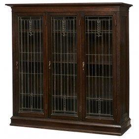 """Prairie School Bookcase 64.5""""w X 17.5""""d X 66""""h"""