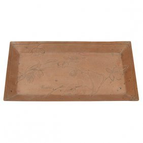 """Carence Crafters Bittersweet Nightshade Vine Tray 9""""w X"""