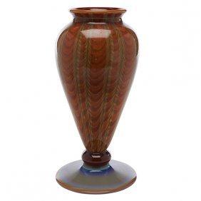 "Arthur Douglas Nash (1882-1940) Vase 4""dia X 8.5""h"