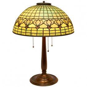Tiffany Studios Pomegranate Table Lamp, Base #534