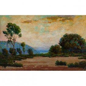 John Jenkins, (american, 1868-1937), Landscape, Oil On
