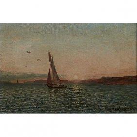 Antonio Jacobsen, (american/danish, 1850-1921), Sailing