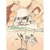 Salvador Dali, (Spanish, 1904-1989), The Agony of Love,