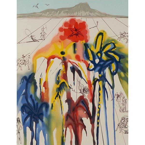 Salvador Dali, (Spanish, 1904-1989), Diamond Head,