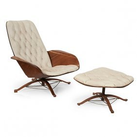 George Mulhauser (1922-2002) For Plycraft Mr. Chair And