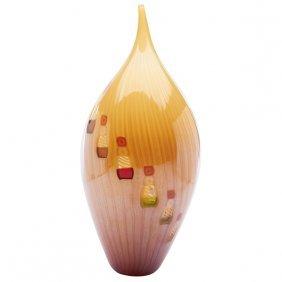 """Contemporary Vase 6.5""""dia X 14.5""""h"""