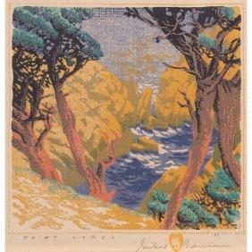2: Gustave Baumann woodblock