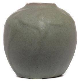 23: Van Briggle vase, organic design