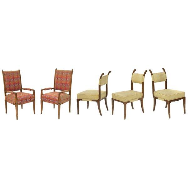 990: Tommi Parzinger chairs, by Parzinger Originals, fi