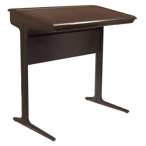 1055: Herman Miller desk, designed by Geoff Hollington