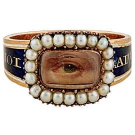 Lover's Eye Georgian Period ring