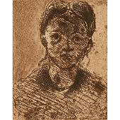 Paul Cezanne, (French, 1839-1906), Guillaumin au pendu
