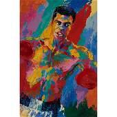 LeRoy Neiman, (American, 1921-2012), Muhammad Ali,