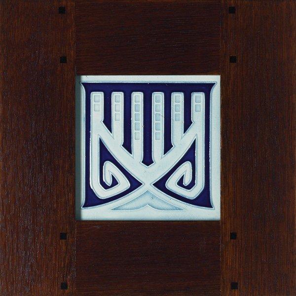 24: German tile, geometric designs