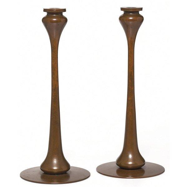 198: Jarvie candlesticks, pair, Kappa model