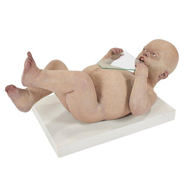 Joseph Seigenthaler (American, b. 1959), Teething Baby,
