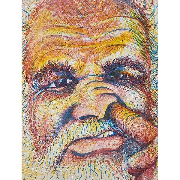 Robert Arneson (American, 1930-1992), Pickin, 1981,