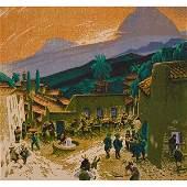 Gustave Baumann, (American/German, 1881-1971), Morning
