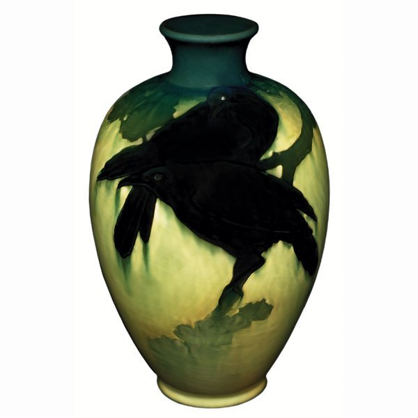 1500: Rookwood vase, Sea Green glaze, Matt Daly